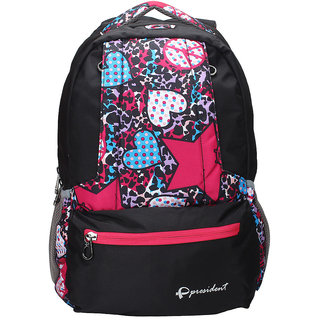 President SPRINT Black School College Bags