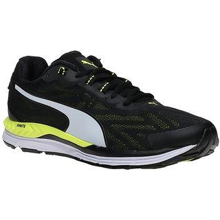 0ec3586b76b58a Buy Puma Speed 600 Ignite 2 Men S Black Lace-Up Sport Shoes Online ...