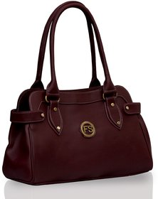 Twach Women's Handbag Maroon