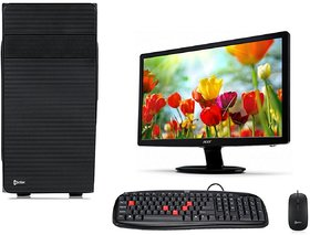 Electrobot EB-7531-15 Desktop Complete Computer Package with Keyboard, Mouse, 15.6 LCD Monitor brands vary