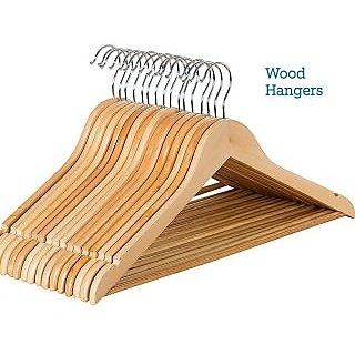 Unique Cartz Wooden Hanger Pack Of 130