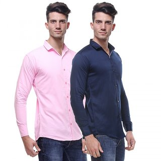 Red Code  Full Sleeves Casual Poly-Cotton Shirts For Men Pack Of 211