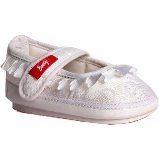 Indman Kid's Shoes - White Color - FJ/4102WH