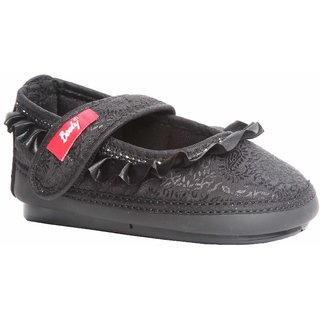 Indman Kid's Shoes - Black Color - FJ/4102BK