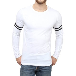 Men's Solid Round Neck Neck T shirt