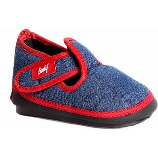 Indman Kid's Shoes - Navy Red Color - FJ160NR