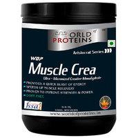 WOP Muscle Crea (Micronized Creatine Monohydrate) 300 gm Lemon