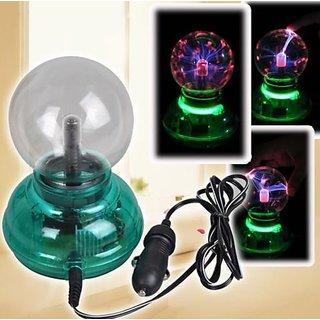 Magic Plasma Ball Crystal Neon Sphere Negative Ion Generator Car Interior Light Gift Set