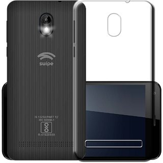Swipe Konnect Grand Transparent Soft Back Cover