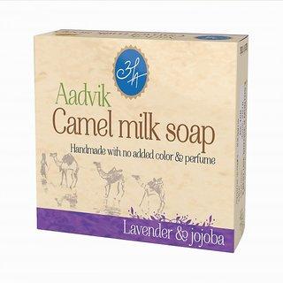 Aadvik Camel Milk Soap (Lavender  Jojoba) 100 gms.