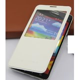 100%Brand New FlipS-VIEW Cover Case For Samsung Galaxy Note3 N9000 N9005 WHITE