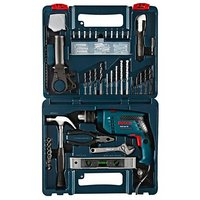 Impact Drill Tool Kit Bosch GSB 600 RE 13mm 600w - 100pcs