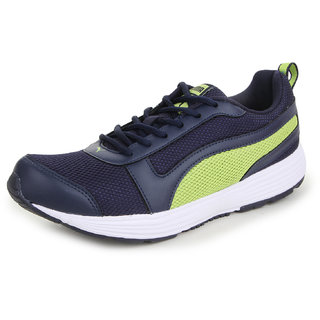 Puma Men'S Alex IDP Navy Blue Mesh Running Shoes