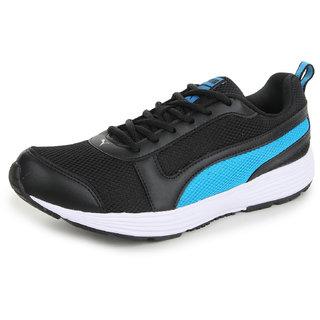 Puma Men'S Alex IDP Black Mesh Running Shoes