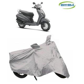 Bigwheels Premium Quality Silver Matty Scooty Body Cover For Honda Activa
