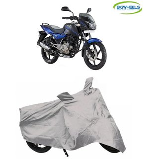 Bigwheels Premium Quality Silver Matty Bike Body Cover For Bajaj Pulsar 180