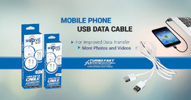 MoveOn- Fast Charge and Data transfer data cable