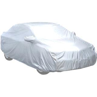 Silver Matty  Car Body Cover For Hyundai Verna