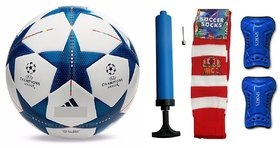 Shoppers UEFA Champions League Bluestar Football (Size-5)  Combo