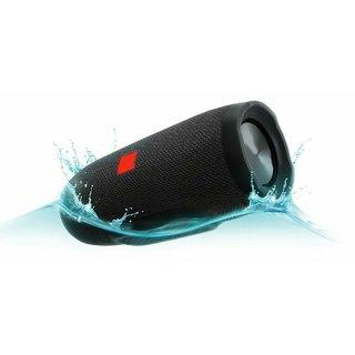 Charge 3 Waterproof Portable Bluetooth Speaker (Black)