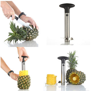 Stainless Steel Pine-Apple Cutter