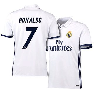 new arrival 00a37 17d05 Real Madrid Jersey 2016-17 With Ronaldo Printing (WITH SHORTS)