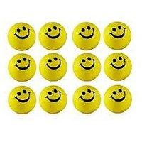 Smiley Balls Pack Of 12 For Car/Return Gift