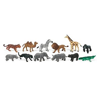 J.Animals [Bls-Pk]-12 Pcs(Plastic Toys) - ( Pcs )