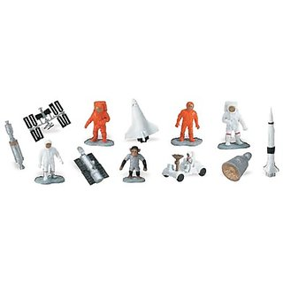 Space [Bls-Pk]-12 Pcs(Plastic Toys) - ( Pcs )
