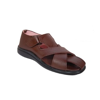 Brown Comfy Sandals SN102