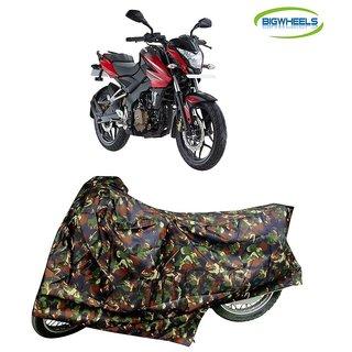 Bigwheels Premium Quality Junglee Matty Bike Body Cover For Bajaj Pulsar NS 200