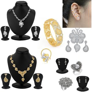 Sukkhi Fancy 10 Piece Fashion Jewellery Combo