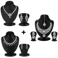 Sukkhi's Fascinating 3 Piece Necklace Set Combo