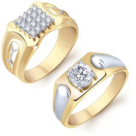 Sukkhi Amazing 2 Piece Ring Combo for Men