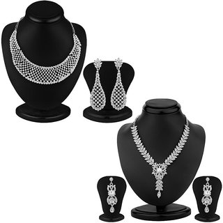 Sukkhi Traditionally 2 Piece Necklace Set Combo