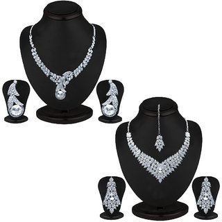 Sukkhi Incredible 2 Piece Necklace Set Combo