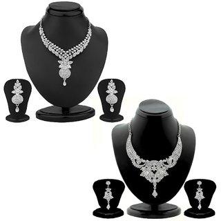 Sukkhi Graceful 2 Piece Necklace Set Combo