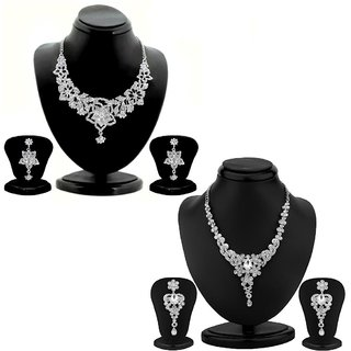Sukkhi Sublime 2 Piece Necklace Set Combo