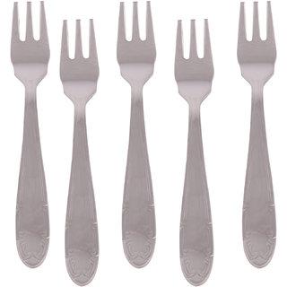 Kishco Stainless Steel French Fruit Fork 6 Pcs Set