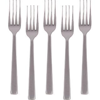 Kishco Stainless Steel Ultima Deluxe Dessert Fork 6 Pcs Set
