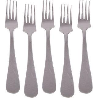 Kishco Stainless Steel Fiesta Dessert Fork 6 Pcs Set