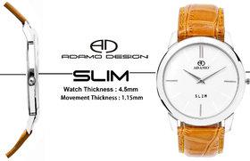 ADAMO SLIM Mens Wrist Watch AD64MT01