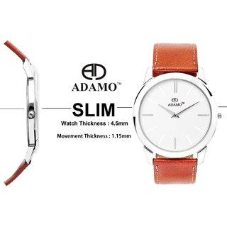 ADAMO SLIM Analog Watch For men's AD64TN01