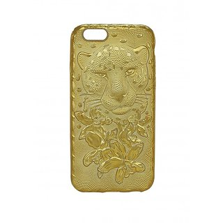 golden i phone 6  6s mobile cover