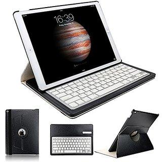 iPad Pro 12 9 Keyboard Cover, KVAGO 360 Degree Rotating Swivel Case with  Detachable Wireless Bluetooth Keyboard Keypad Protective Cover Sleeve Folio