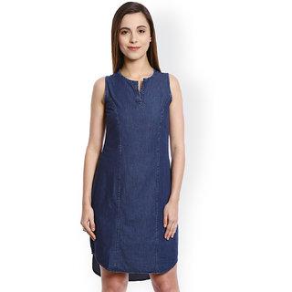 613b71572ab Buy Blue Denim Dress Online - Get 76% Off