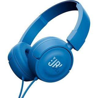 JBL T450 ( BLUE)ON EAR HEADPHONES