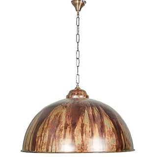 Fos Lighting Drip Copper Large Dome Hanging Light