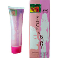 Face And Body Cleansing Scrub Gel ( Buy 1 Get 4 Free )