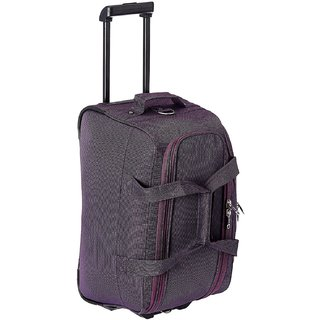 77f3561663 Princeware Russel Polyester 51 cms Purple Travel Duffle